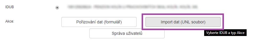 Ubyport - import dat UNL soubor