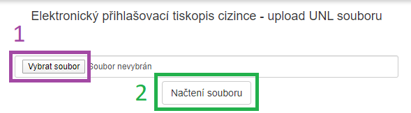 Ubyport - upload UNL souboru